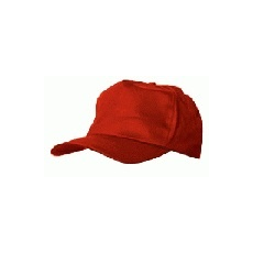 MV baseball sapka 57305 piros