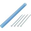 Szilikon tömlő 15 mm, átlátszó kék