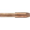 Toolcraft Toolcraft KP-300 forrasztópákához való véső formájú, csapott pákahegy, forrasztóhegy 25.5 mm