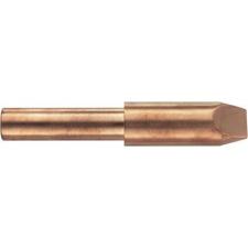 Toolcraft Toolcraft KP-300 forrasztópákához való véső formájú, csapott pákahegy, forrasztóhegy 25.5 mm forrasztási tartozék