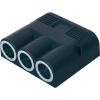 ProCar ProCar 3 részes szivargyújtó elosztó, szerelhető, 16A, 12/24V