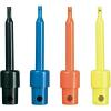 Mini mérőhegy készlet, piros, fekete, kék, sárga színben, 0,3 A, Voltcraft