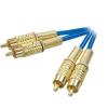 Kábel 2 RCA/2 RCA 2,5 m SPEAKA