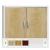 KSPS 01CL fém irattároló szekrény laminált bútorlap ajtóval