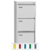 REG 43 C, 3 fiókos függőmappa tároló szekrény, A/4 függőmappákhoz