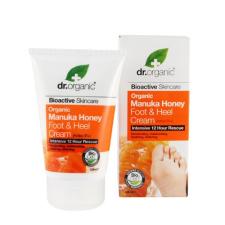 Dr. Organic Bio Manuka mézes láb- és sarokápoló lábápolás