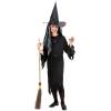 Fekete boszorkány jelmez - 140 cm-es méret