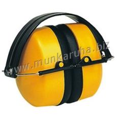 Earline® MAX 500 sárga fültok, összecsukható, állítható fémpánttal (SNR 30dB)