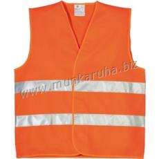Coverguard Fluo jól láthatósági mellény, 2 keresztcsík, narancs