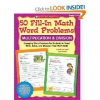 50 Fill-In Math Word Problems Gr 2-4