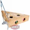 Trixie Plüss Sajt cicajáték bézs / szürke (TRX4505)