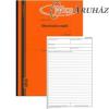 Ellenőrzési napló 25x3 lapos A4