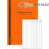 Előadói munkakönyv 20 lap C.5230-58