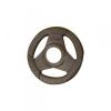 Fekete fogós gumirozott tárcsa 50mm (1,25-2,5-5-10-15-20-25)kg
