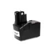 Powery Utángyártott akku Bosch fúró-csavarbehajtó GSR 9.6Ve-2 NiCd
