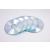 FELLOWES CD-tok, vékony, 1 lemez, kör alakú, FELLOWES, átlátszó