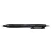 UNI Golyóstoll, 0,3 mm, nyomógombos, fekete tolltest, UNI