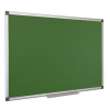 Krétás tábla, zöld felület, nem mágneses, 100x150 cm, alumínium keret, VICTORIA