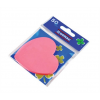 DONAU Öntapadó jegyzettömb, szív alakú, 50 lap, DONAU, rózsaszín