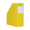VICTORIA Iratpapucs, karton, 90 mm, VICTORIA, sárga