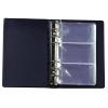 PANTA PLAST Névjegytartó, 120 db-os, gyűrűs, PANTAPLAST, kék