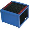 HELIT Függőmappa tároló, műanyag, HELIT, kék