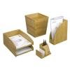 REXEL Papírkosár, bambusz, REXEL