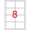 APLI Etikett, lézernyomtatókhoz, 97x67,7 mm, APLI, 2000 etikett/csomag