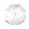 . Automata esernyő, hajlított fa nyéllel, fehér