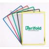 TARIFOLD Bemutatótábla, függő, A4, álló, fém fülecskével, TARIFOLD, zöld