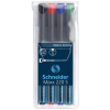 SCHNEIDER Alkoholos marker készlet, OHP, 0,4 mm, SCHNEIDER
