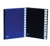 DONAU Előrendező, A4, 1-31, karton, DONAU, fekete mappa