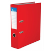 VICTORIA Iratrendező, 75 mm, A4, PP/karton, élvédő sínnel, VICTORIA, piros