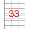 APLI Etikett, univerzális, 70x25,4 mm, APLI, 16500 etikett/csomag