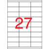 APLI Etikett, univerzális, 70x30 mm, APLI, 13500 etikett/csomag