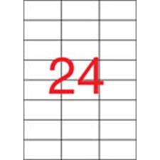 APLI Etikett, univerzális, 70x37 mm, APLI, 2400 etikett/csomag etikett