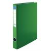 VICTORIA Gyűrűs dosszié, 4 gyűrű, 35 mm, A4, PP/karton, VICTORIA, zöld