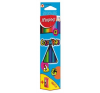 MAPED Color`Peps színes ceruza készlet, háromszögletű, hegyezővel, 12 különböző szín ceruza