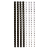 FELLOWES Spirál, műanyag, 6 mm, 10-20 lap, FELLOWES, fekete