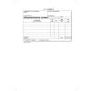 VICTORIA Nyomtatvány, *készpénzfizetési számlatömb, egy ÁFÁs, 50x3, A5, fekvő, VICTORIA,