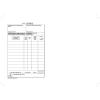 VICTORIA Nyomtatvány, *készpénzfizetési számlatömb, egy ÁFÁs, 50x3, A5, VICTORIA,