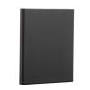 PANTA PLAST Gyűrűs dosszié, panorámás, 4 gyűrű, 50 mm, A4, PP/karton, PANTA PLAST, fekete