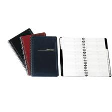 PANTA PLAST Telefonregiszter, spirálos, A5, PANTAPLAST, fekete lefűző