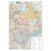 Stiefel Eurocart Kft. A Nyugat-Dunántúl régió járásainak térképe