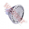 WPOWER LED izzó MR16, spot, 120 Lm, 45 fok