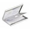 Névjegykártyatartó Durable saját névjegyeknek 2 részes fém matt ezüst