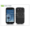 CASE-MATE Samsung i9300 Galaxy S III hátlap - Case-Mate Barely There - black
