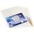 VIQUEL Genotherm, lefűzhető, színes szélű, A4, 120 mikron, víztiszta, félig nyitott, vegyes színek