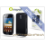 Muvit Samsung i8160 Galaxy Ace hátlap - Muvit miniGel Glazy - black