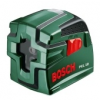 Bosch PCL 10 keresztvonalas szintezőlézer